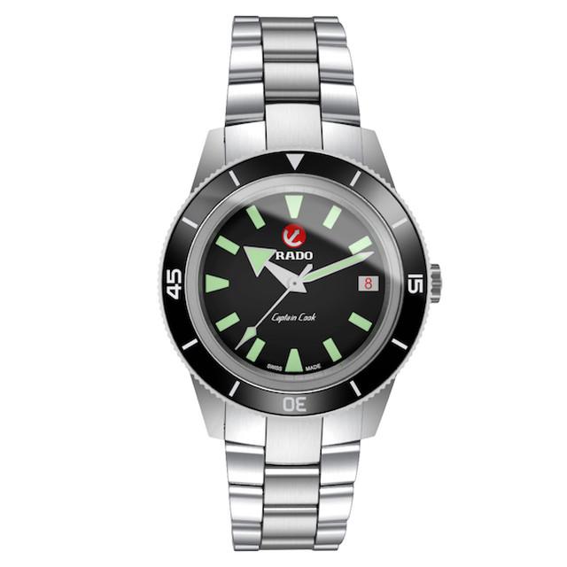 【RADO ラドー】HyperChrome Captain Cook / キャプテンクック スイスメイド腕時計