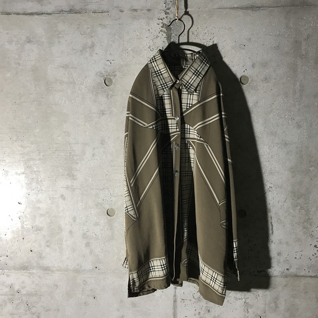 [used] like BURBERRY checked shirt