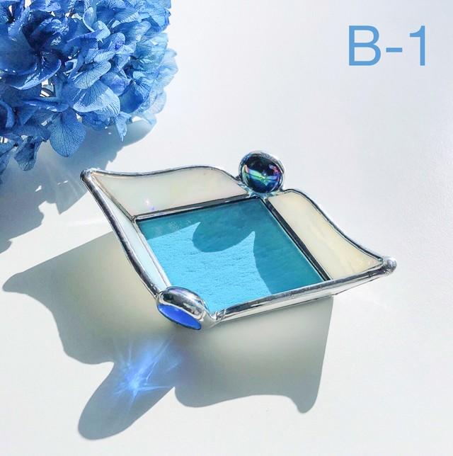 浄化のお皿[ブルー] B-1