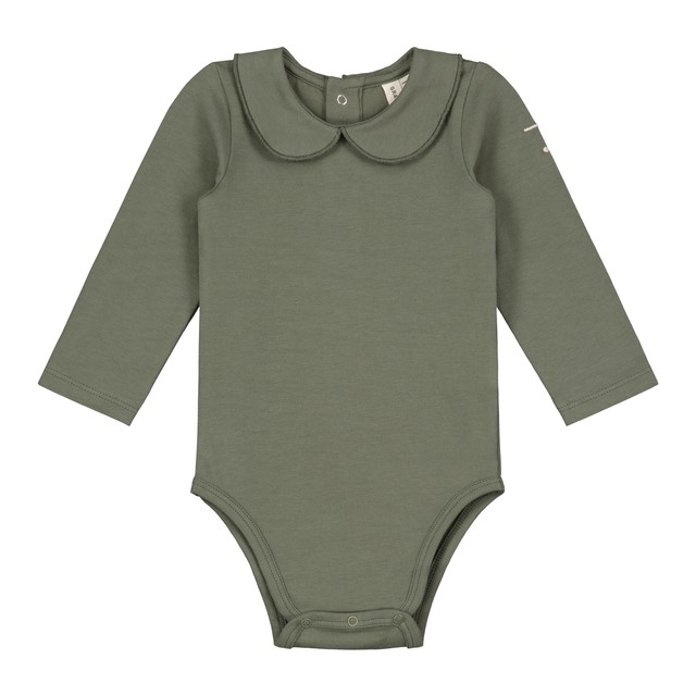 GRAY LABEL / Baby Collar Onesie[Moss]