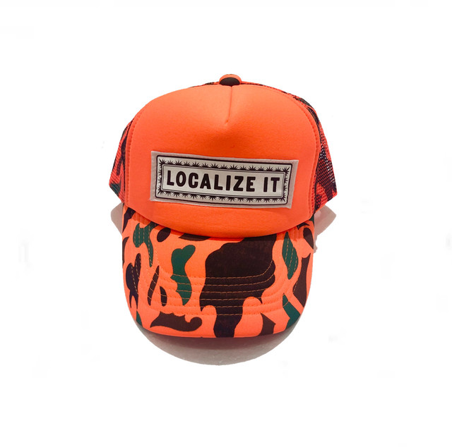 【THE DAWN B】LOCALIZE IT cap