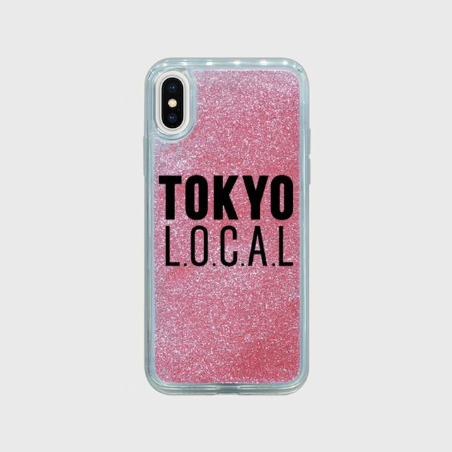 「TOKYO L.O.C.A.L type A」グリッターiPhoneケース