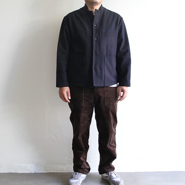 STILL BY HAND  【 mens 】 tuck wool slucks