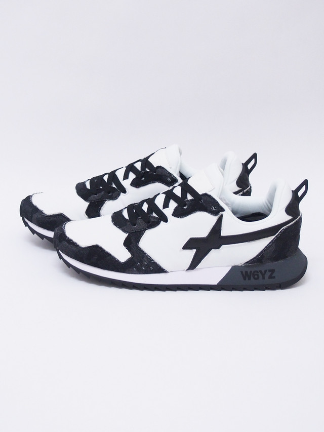RESOUND CLOTHING (リサウンドクロージング) W6YZ×RESOUNDCLOTHING SNEAKERS / BLACK CAMO REWZ01-1
