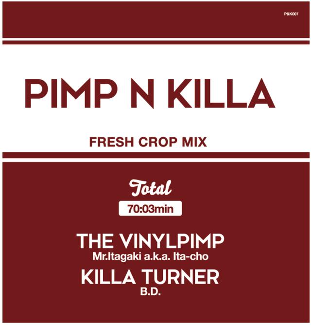 【残りわずか/CD】Mr.Itagaki a.k.a. Ita-cho & KILLA TURNER / B.D. - PIMP&KILLA 2