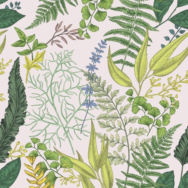 2021春夏【Paper+Design】バラ売り2枚 ランチサイズ ペーパーナプキン Soft nature グリーン