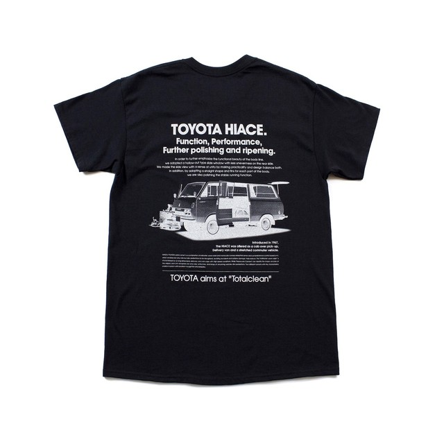 "TOYOTA ""HIACE"" Long Sleeve - Black"