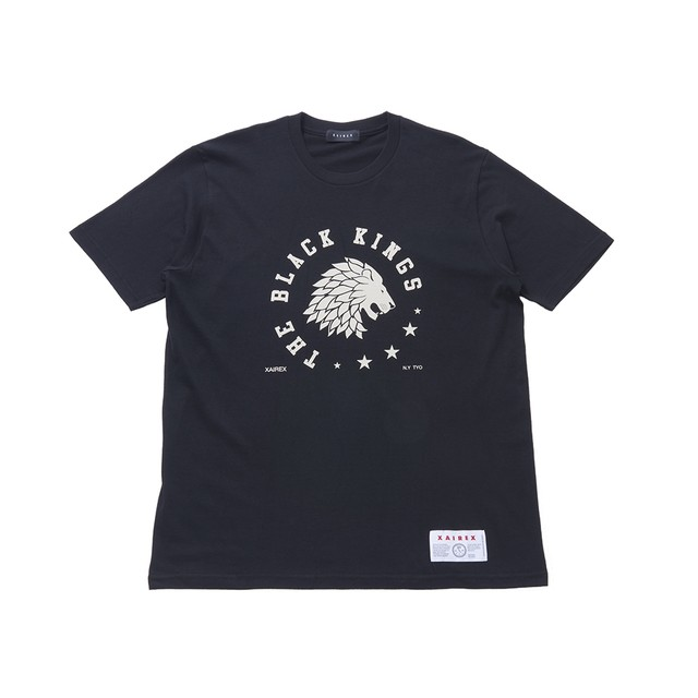 THE BLACK KINGS TEE(BLACK)