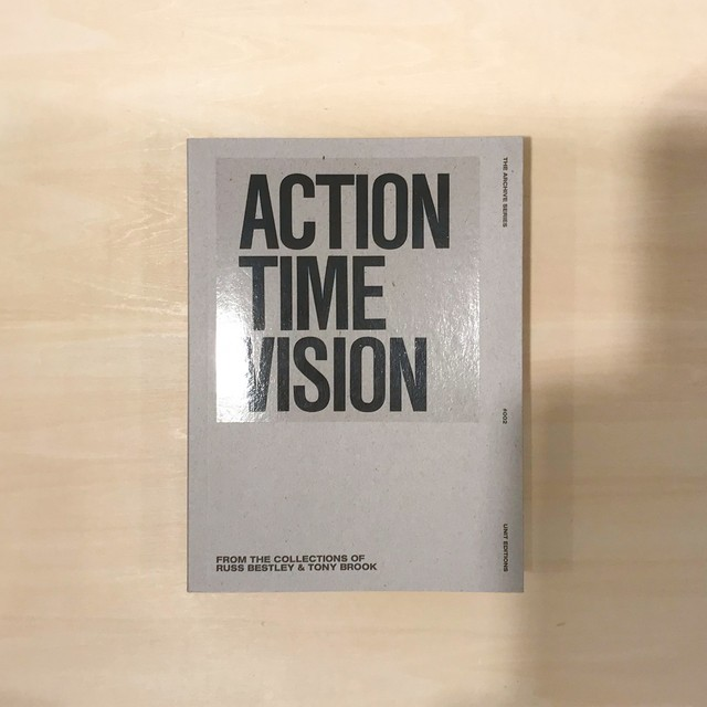 "Action Time Vision |  Punk & Post-Punk 7"" Record Sleeves Archive Series"