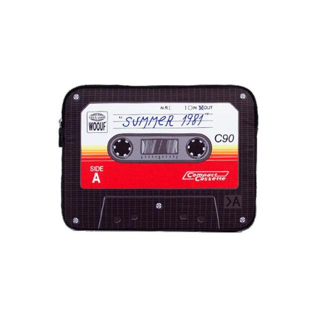 13インチPCケース / Cassette (カセット) / WOOUF! BARCELONA (ウーフバルセロナ)