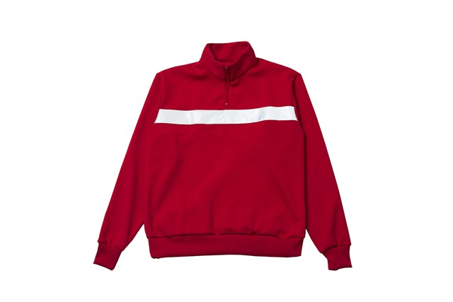 """EZ DO by EACHTIME. """"NIGHT CRUISING JERSEY TOP""""  RED"""