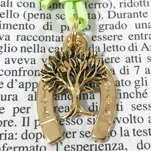 ◆幸運の馬蹄アクセサリー◆ 生命の樹(せいめいのき)1 「健康・長生き・成長」