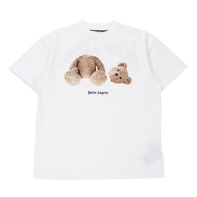 PALM ANGELS Bear T-Shirt White