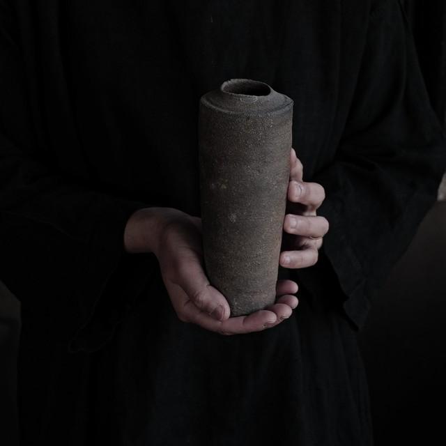 焼締花器 sekiguchi noritaka