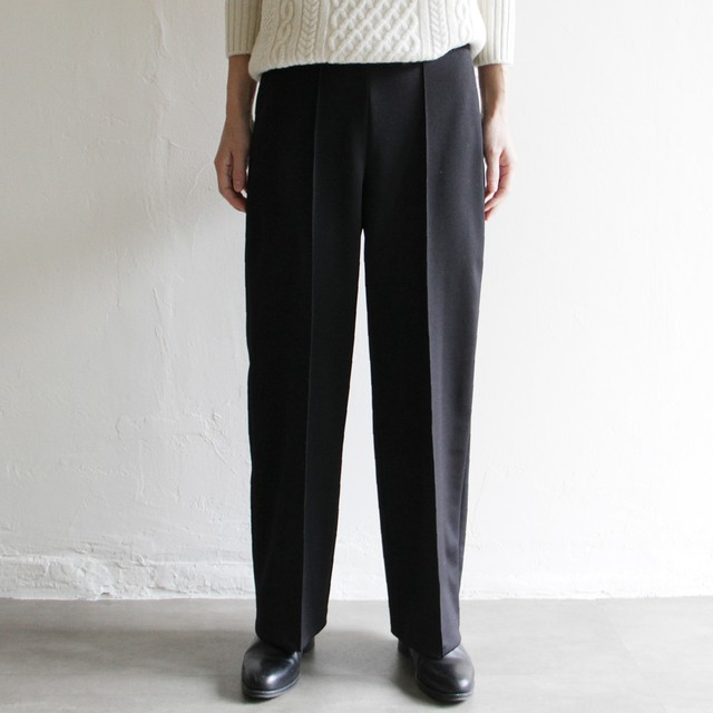 dolly-sean 【 women 】pique jersey wide pants