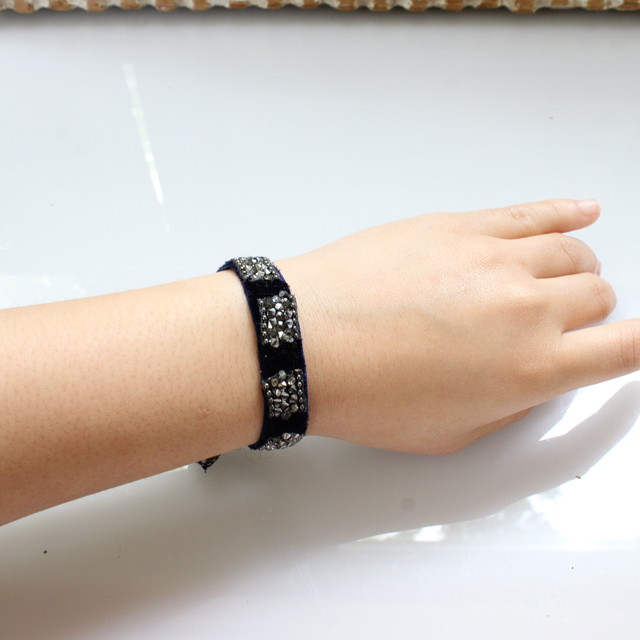 Beatrice Bracelete 13㎜(black)