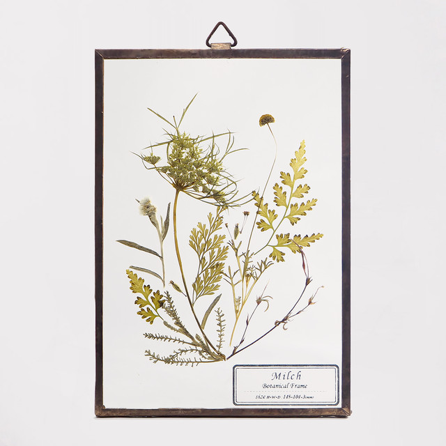 Botanical Frame S036 - Gold