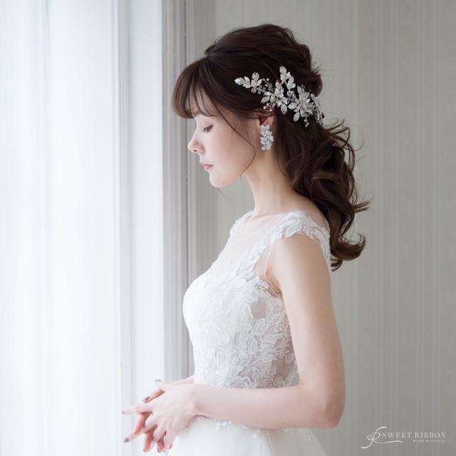 ブライダルヘッドドレス[HA-072]