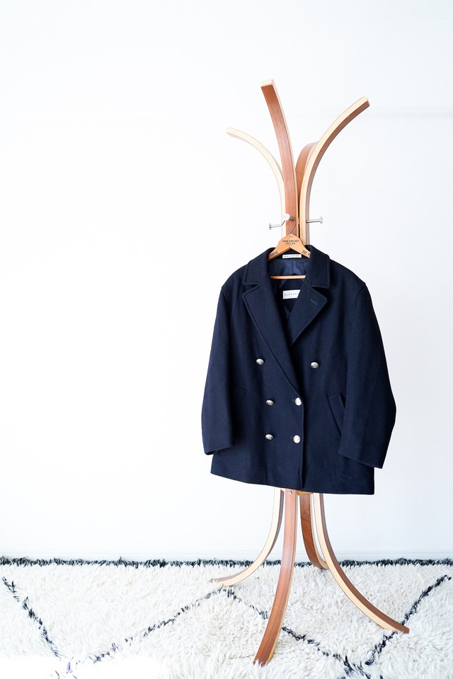"【1990s】""Gloverall"" Wool Double Breasted JKT / v437"