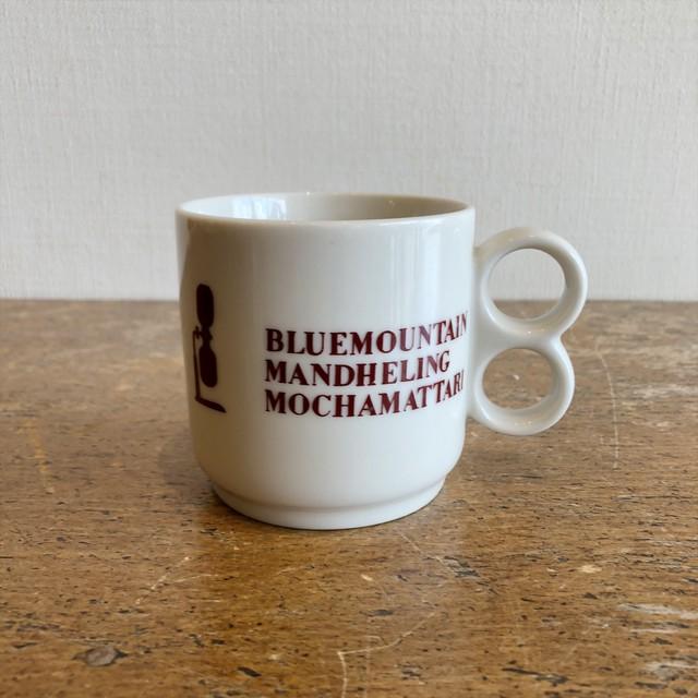 コーヒー豆マグカップ