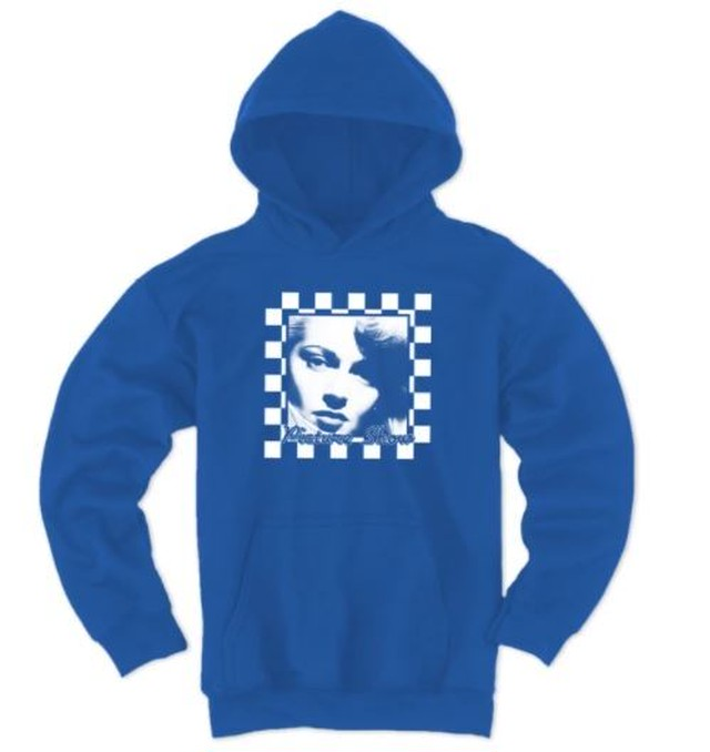 PICTURE SHOW HOMECOMING PULLOVER HOODIE ROYAL