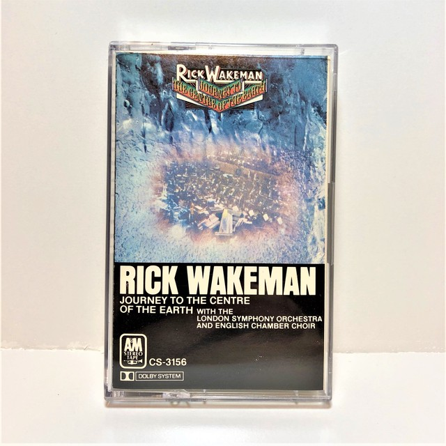 [中古カセット]  Rick Wakeman ‎– Journey To The Centre Of The Earth