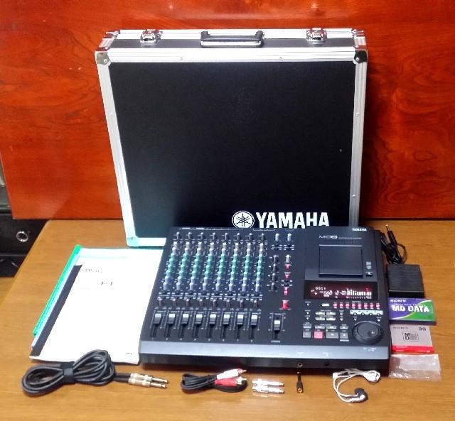 MULTITRACK MD RECORDER YAMAHA MD8 美品・完動品・トランク付き