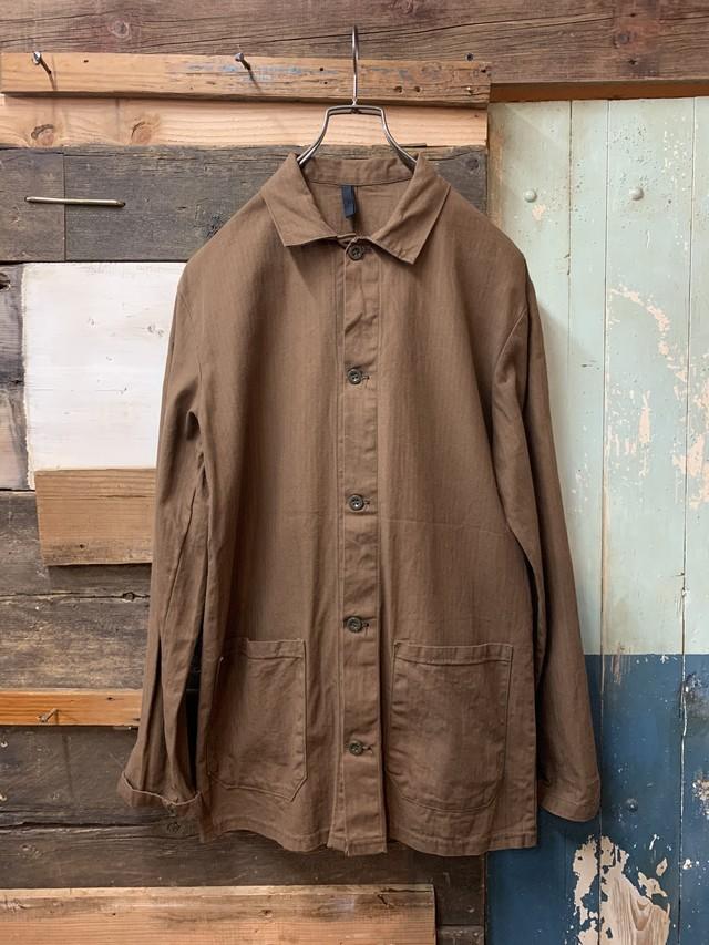 70's czech army hbt work jacket deadstock