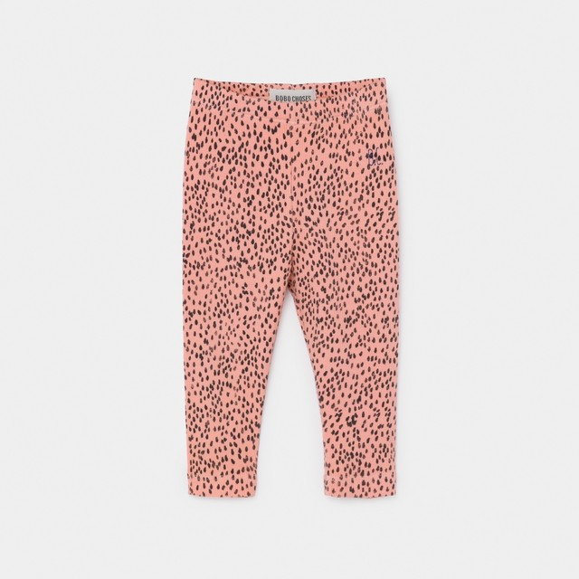 《BOBO CHOSES 2020SS》All Over Leopard Pink Leggings / 6-36M