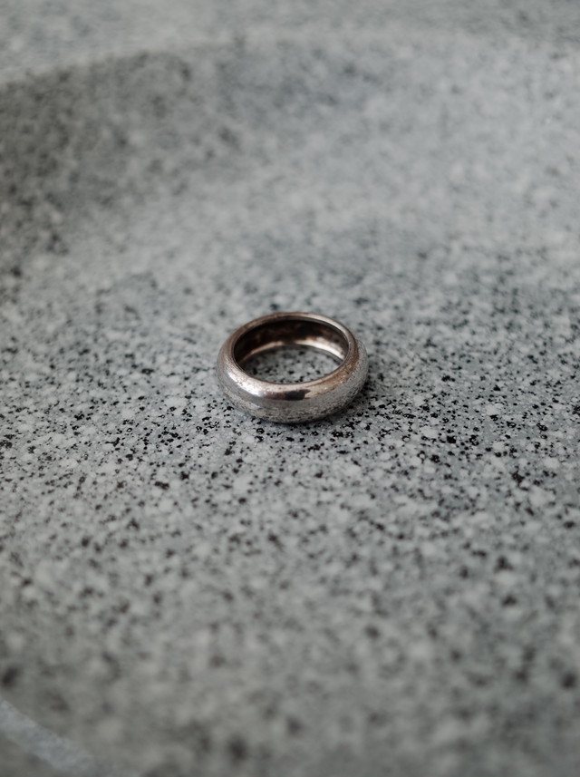 Used silver ring