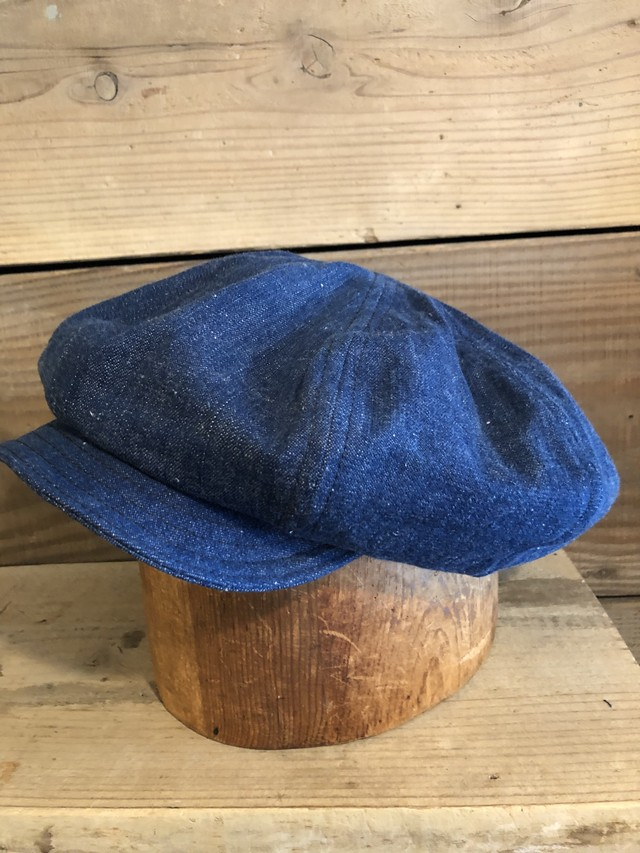 BAA BIG APPLE CASQUETTE  (12) 1940s US NAVY DENIM