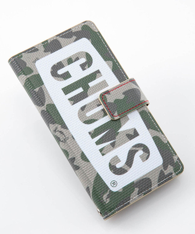CHUMS(チャムス) Diary Case For iPhone 6/7/8 (ダイアリーケース フォー アイフォン 6/7/8) Camo (カモ) CH62-1273