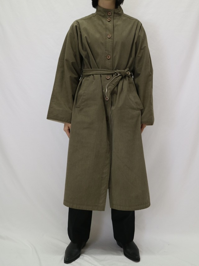 stand collar reversible coat【0358】