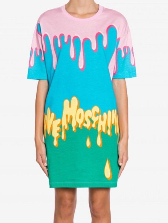 【LOVE MOSCHINO】Tシャツワンピース