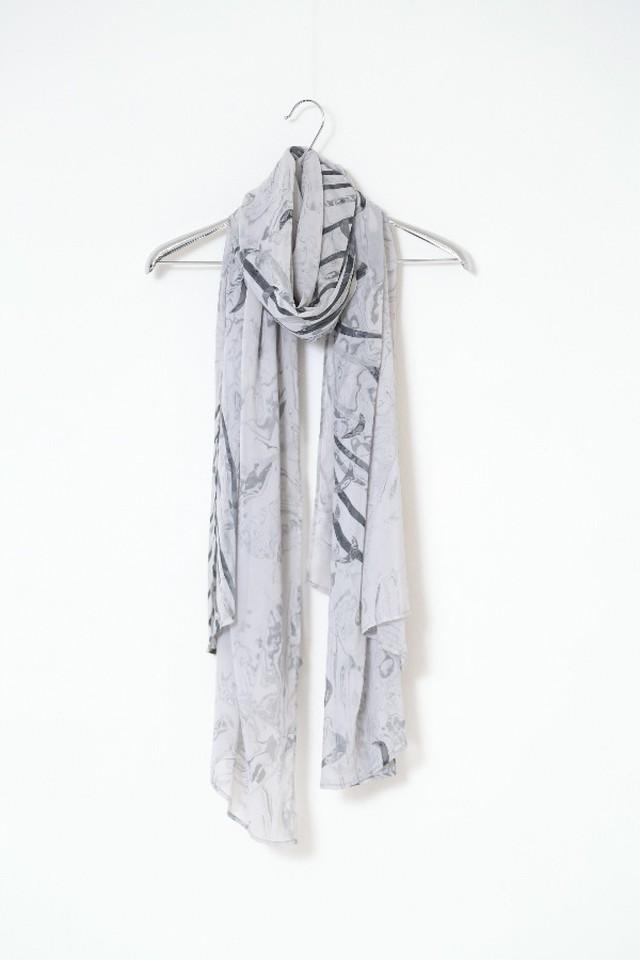 「糸」103-x.x  stole #light gray
