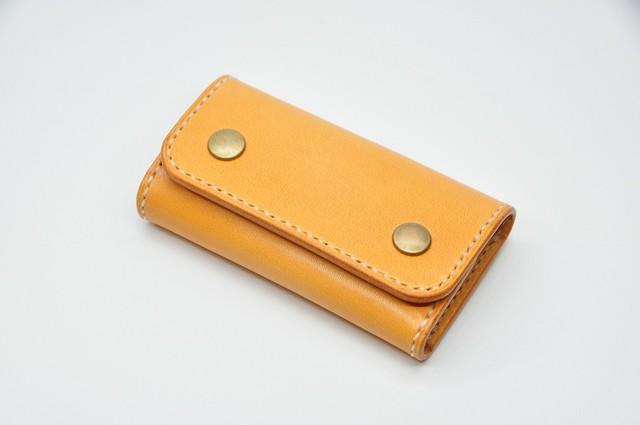 ヌメ革スマートキーケース「吊下げ型」