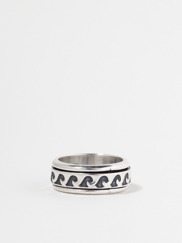 Wave Spinner Ring / Mexico