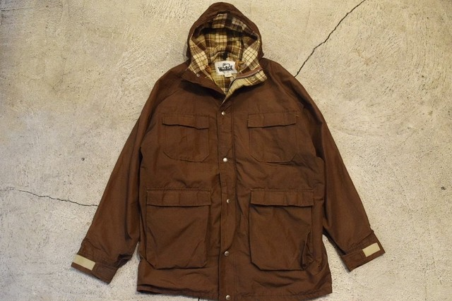 USED 70s Woolrich Mountain parka -X-Large 0831