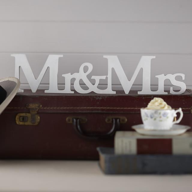 """""""Mr & Mrs"""" サインデコレーション (MJAF-638)"""