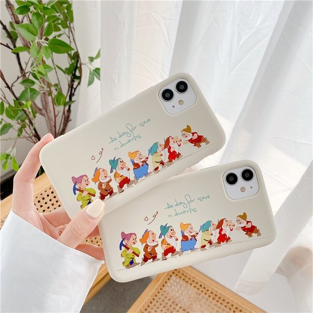 Seven dwarfs iphone case