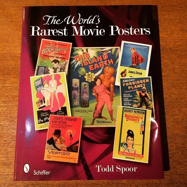 映画の本「The World's Rarest Movie Posters」 - メイン画像