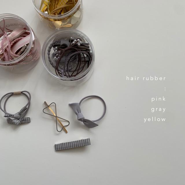 640. hair rubber