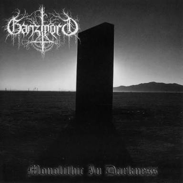 【USED】GANZMORD / Monolithic In Darkness