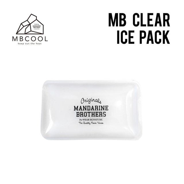 MB CLEAR ICE PACK (742001) アイスパック