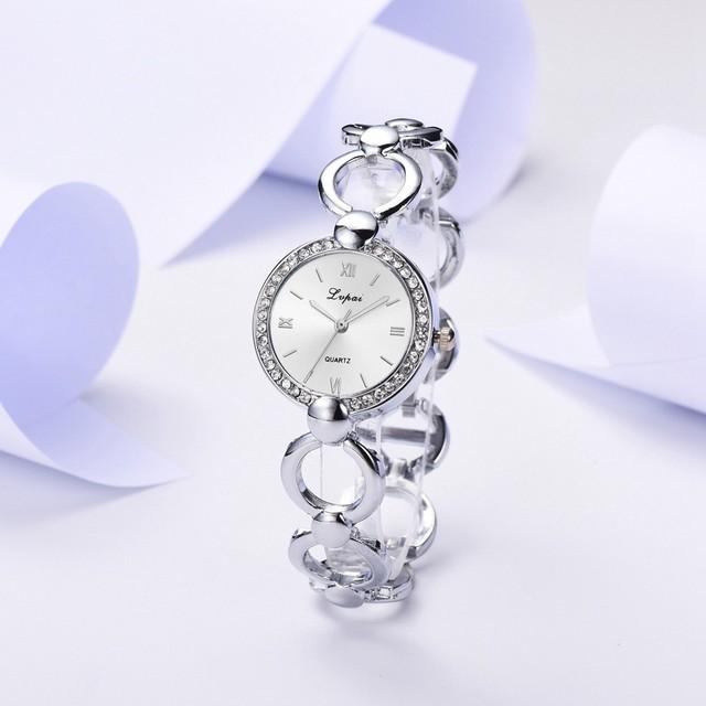 LVPAI LT-M1787(silver-white) レディース腕時計