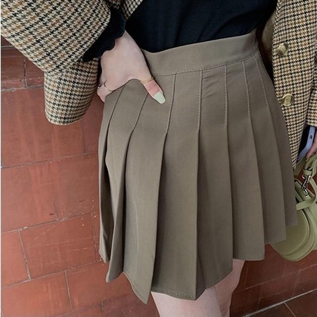 pleats skirt 3c's