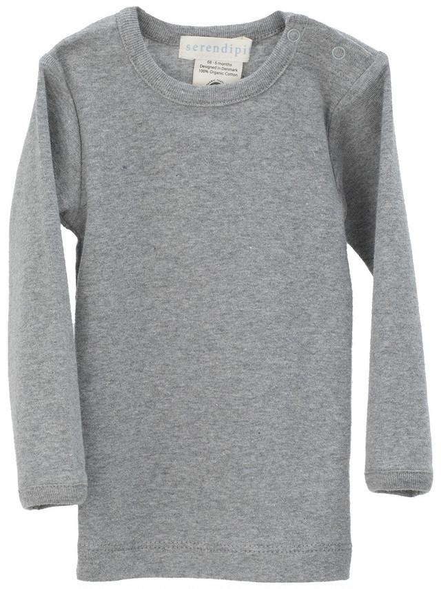serendipity ORGANICS (ベビー)スリムロングTシャツ(長袖) オーガニックコットン
