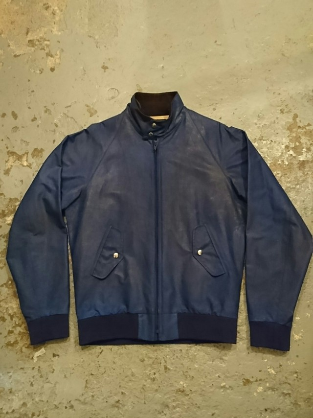 "FAR EASTERN ENTHUSIAST ""FOUR CLIMES BLOUSON OILED"""