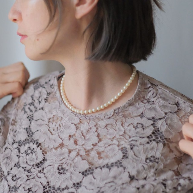 the spring knit + vintage collection: the pearl necklace edition 4
