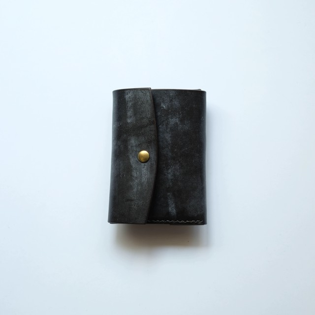 limited  tri-fold wallet - ブライドル -  bridle leather - br